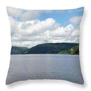 Lake Vyrnwy 2 Throw Pillow
