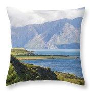 Lake Wakatipi Throw Pillow