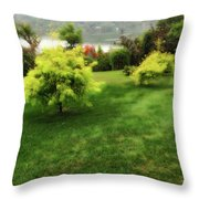 Lake Waramaug Bloom Throw Pillow