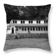 Lake Waramaug Casino Throw Pillow