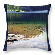 Lake Washington  Throw Pillow
