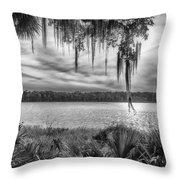 Lake Wauberg   Throw Pillow