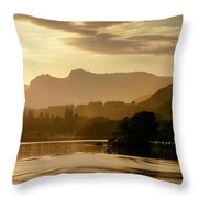Lake Windermere Two Throw Pillow