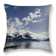 Lake With Islands Throw Pillow