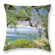 Lake025 Throw Pillow