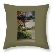 Lake1 Throw Pillow