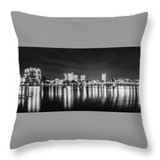 Lakeland Lights Throw Pillow