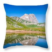 Lakes And Peaks Throw Pillow