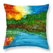 Lakeshore Throw Pillow