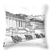 Lakeside. Barry Throw Pillow
