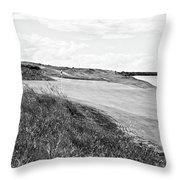 Lakeside Beauty - Bw No. 17 Throw Pillow