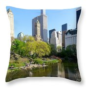 Lakeside Beauty Throw Pillow
