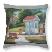 Lakeside East Gate Throw Pillow