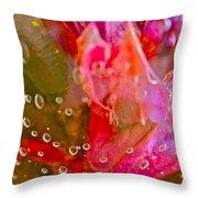 Lakeside Garden Throw Pillow