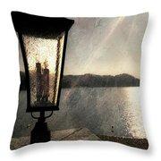 Lakeside Lantern Throw Pillow