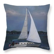 Lakeside Leisure Throw Pillow