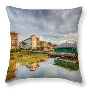Lakeside Reflections Throw Pillow