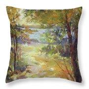 Lakeside Sunglow Throw Pillow