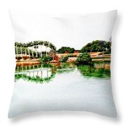 Lakeview Reflections Throw Pillow