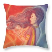Lakshmi Throw Pillow