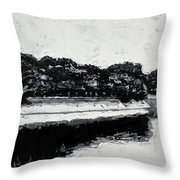 Lal Bagh Lake 4 Throw Pillow