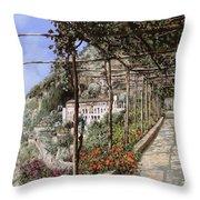 L'albergo Dei Cappuccini-costiera Amalfitana Throw Pillow