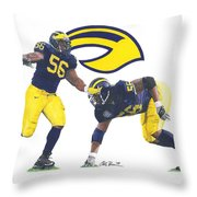 Lamarr Woodley Throw Pillow