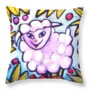 Lambie Throw Pillow