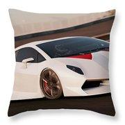 Lamborghini Sesto Elemento - 04 Throw Pillow