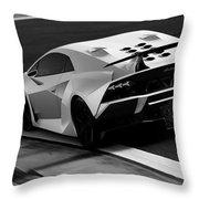 Lamborghini Sesto Elemento - 10 Throw Pillow