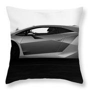 Lamborghini Sesto Elemento - 19 Throw Pillow