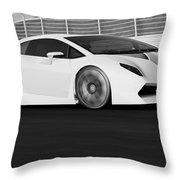 Lamborghini Sesto Elemento - 21 Throw Pillow