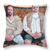 Lament For Donny Throw Pillow by Tom Roderick