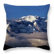 Lamjung Himal Throw Pillow