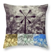 Lamp Abstract Throw Pillow