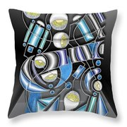 Lamp Arrangement 3 Throw Pillow
