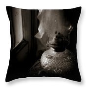 Lamp By The Window Throw Pillow