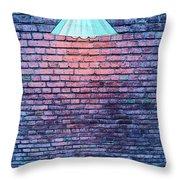 Lamp Light Throw Pillow