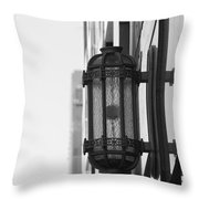 Lamp On The Wall Throw Pillow