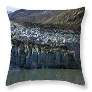 Lamplugh Glacier Throw Pillow