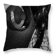 Lamppost Of Passeig De Gracia Throw Pillow