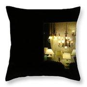 Lamps Throw Pillow
