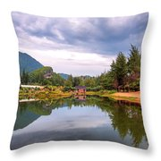 Lampuuk Lake Throw Pillow