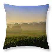 Lancaster County Sunrise Throw Pillow