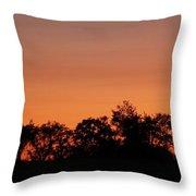 Lancaster County Sunset Throw Pillow