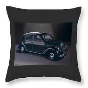 Lancia Ardea 1939 Painting Throw Pillow