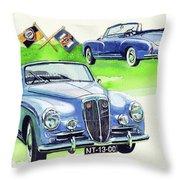 Lancia Aurelia B50 Throw Pillow