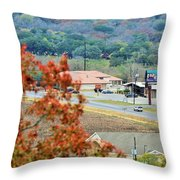 Land 033 Throw Pillow