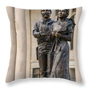 Land Of Hope Throw Pillow