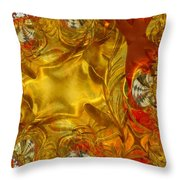 Land Of Oil And Honey Throw Pillow